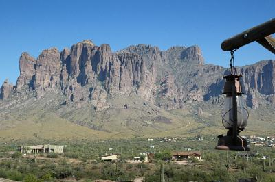 A view from Goldfield to Superstitions
