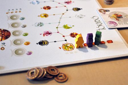 Tokaido desk game